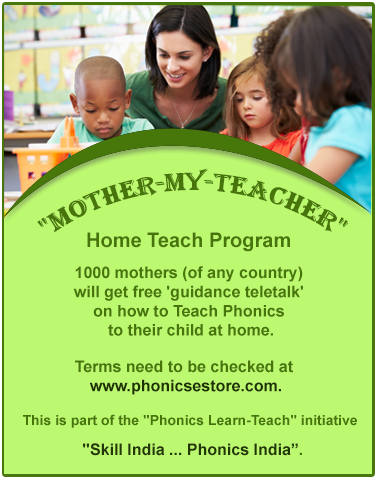phonics training for mothers
